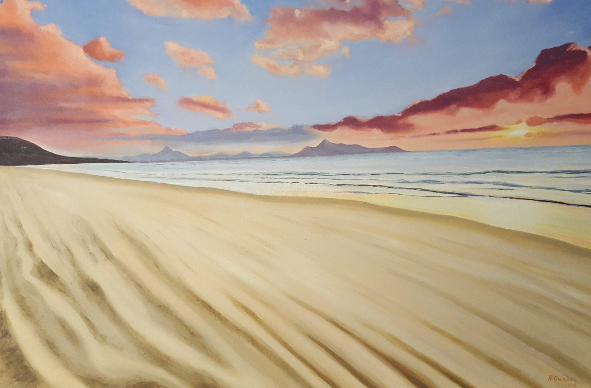 Oleo sobre lienzo - Antonio Guedes